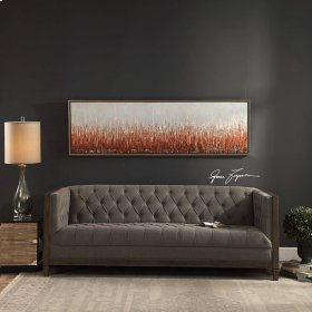 Burning Fields Hand Painted Canvas