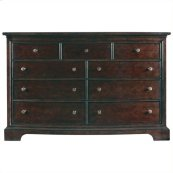 Transitional - Dresser In Polished Sable