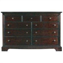 Transitional - Dresser In Polished Sable