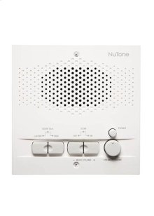 Indoor Remote Station for Intercoms, 5-1/2w x 5-1/2h x 1-5/8d, projects 1-1/8 from wall in White