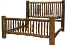 Small Spindle Bed - Cal King - Vintage Cedar Product Image