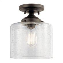 Winslow 1 Light Semi Flush Olde Bronze®
