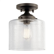 Winslow 1 Light Semi Flush Olde Bronze®