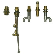 Soirée® Deck-Mount Bath Faucet - Valve - No Color