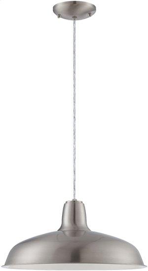 Pendant, Ps/metal Shade, E27 Type A 60w