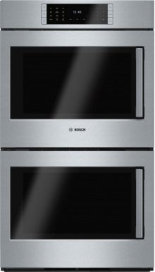 "Benchmark® 30"" Double Wall Oven, Left SideOpening Door, HBLP651LUC, Stainless Steel"