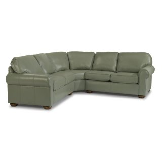 Preston Leather Sectional
