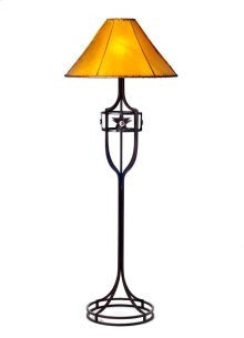 Iron Floor Lamp No Shade