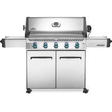 Prestige 665 Gas Grill , Stainless Steel , Propane