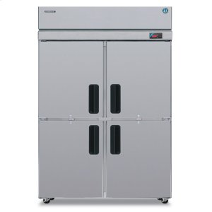 HoshizakiRefrigerator, Two Section Upright, Half Stainless Door