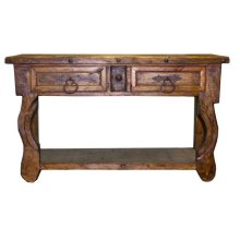 Old Wood Credenza/Console