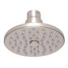 "Satin Nickel 4"" Rodello Circular Rain Showerhead"