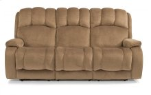 Huron Fabric Reclining Sofa
