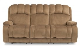 Huron Fabric Reclining Sofa