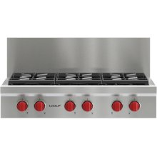 "36"" x 10"" Sealed Burner Rangetop Riser"