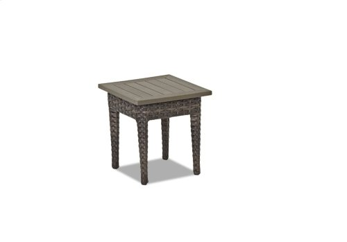 Cascade Square Accent Table