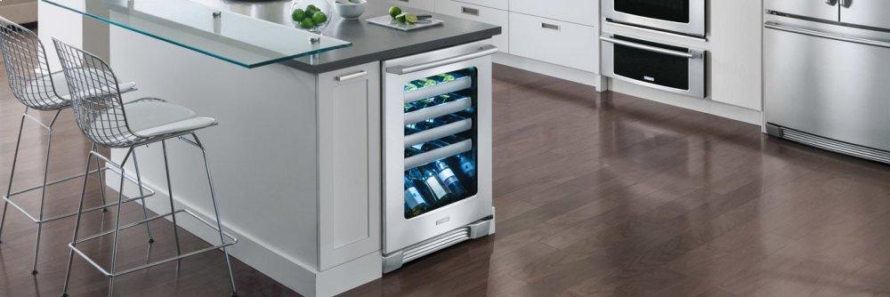 24u0027u0027 Under Counter Wine Cooler With Right Door Swing