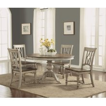 Plymouth Pedestal Dining Table Set