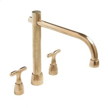 Kitchen Deck Mount Faucet Silicon Bronze Medium