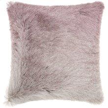 """Shag Tr011 Lavender 20"""" X 20"""" Throw Pillows"""