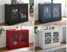"""Tuscany Accent cabinet Black 38""""X15.75""""X32"""" Product Image"""