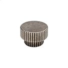Flute Large Knob - CK10017 Silicon Bronze Brushed Product Image