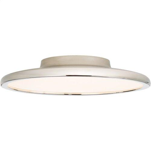 Visual Comfort PB4000PN Peter Bristol Dot LED 14 inch Polished Nickel Flush Mount Ceiling Light
