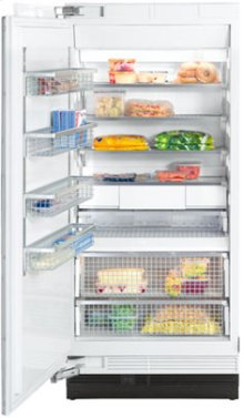 "36"" F 1911 SF Built-In Stainless Steel Freezer - Stainless steel"