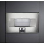 400 Series Combi-Steam Oven 76 Cm Stainless Steel Behind Glass, Door Hinge: Left, Door Hinge: Left