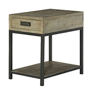 Parsons Charging Chairside Table