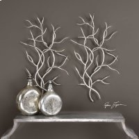 Silver Branches, S/2 Product Image