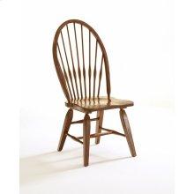 Attic Heirlooms Windsor Side Chair, Antique Black