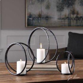 Pina, Candleholders, S/3