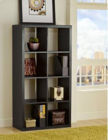 Black Shelf Unit