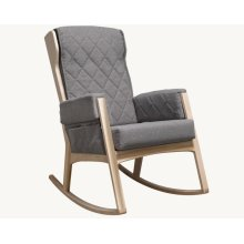 Margot - Dark Grey and Natural Glider