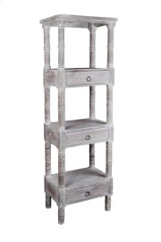 Sunset Trading Cottage Distressed Gray Wood Shelves Product Image