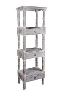 Sunset Trading Cottage Distressed Gray Wood Shelves - Sunset Trading