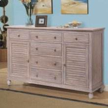 6 Drawer / 2 Door Dresser