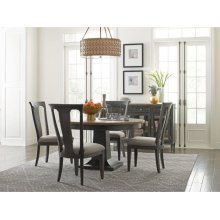 Laurent Round Dining Table Complete