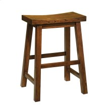 """Honey Brown"" Counter Stool, 24"" Seat Height - overpacked"