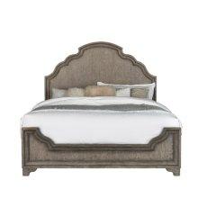 Bristol Queen Panel Bed Headboard in Elm Brown