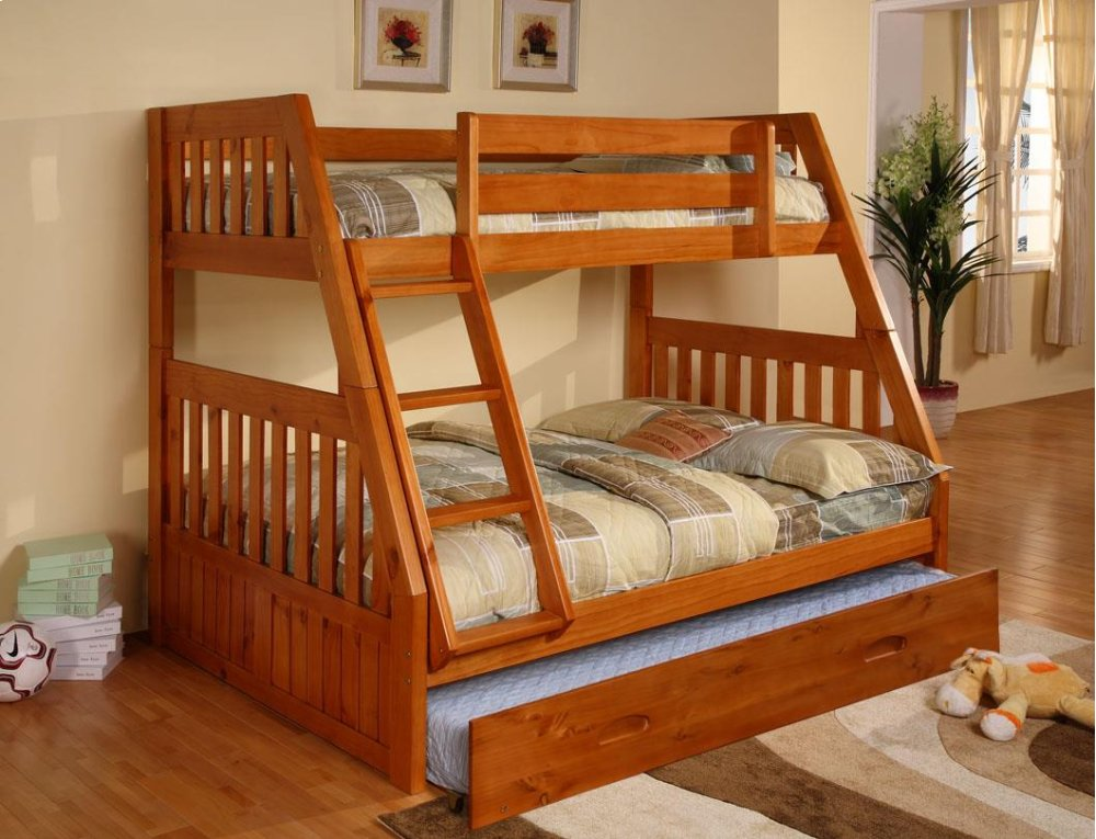 Genial Twin/Full Bunkbed