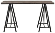 Troy Console - Dark Brown