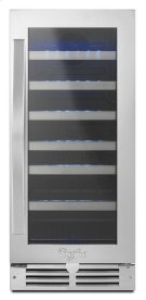 """Whirlpool® 15"""" Undercounter Wine Center with LED lighting Product Image"""