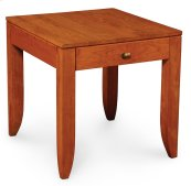 "Justine End Table, Justine End Table, 16""x25 3/4"""