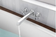 Two-handle Wall Mount Tub Filler - Less Handles