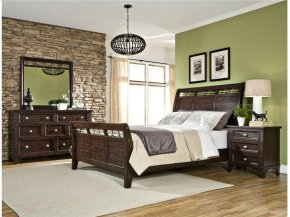 Intercon Bedroom Hayden Queen Sleigh Bed