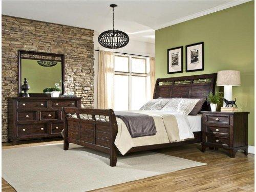 Intercon Bedroom Hayden Queen Sleigh Bed