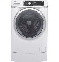 GE® ENERGY STAR® 4.9 DOE cu. ft. capacity RightHeight Design Front Load washer with steam