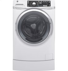 GE® ENERGY STAR® 4.9 DOE cu. ft. capacity RightHeight™ Design Front Load washer with steam